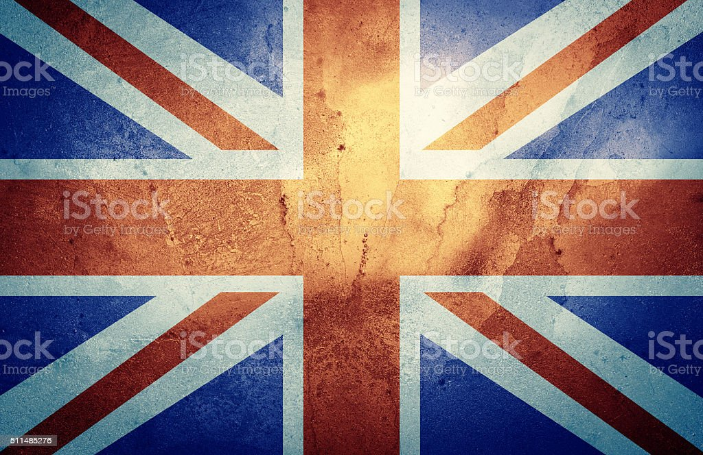 The Union Jack stock photo