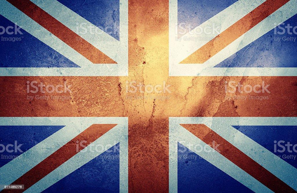The Union Jack stock photo