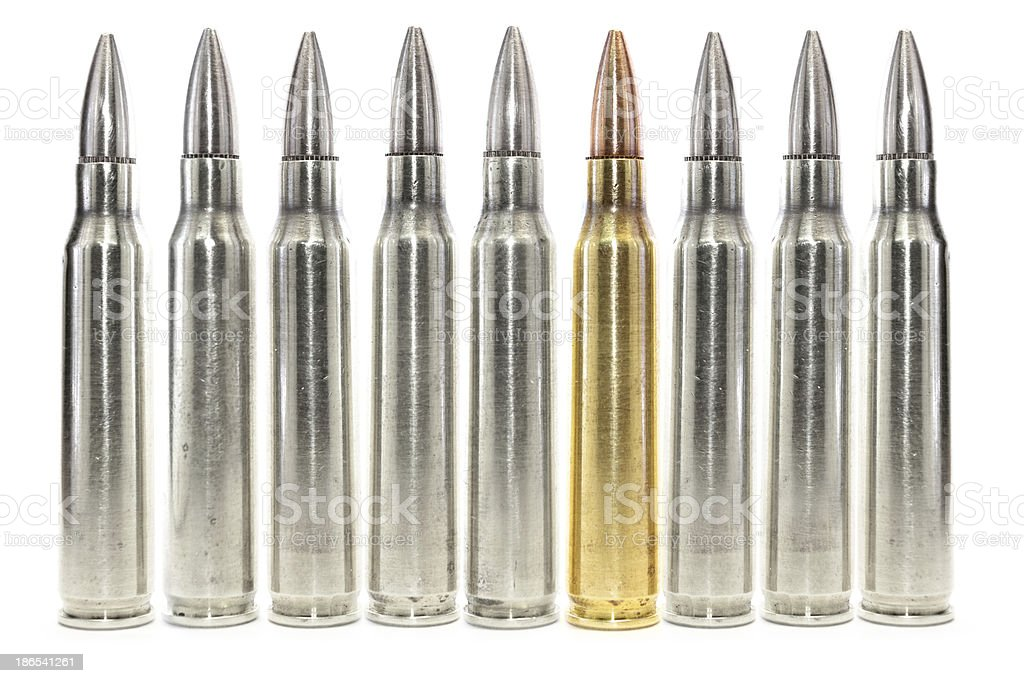 The Unique Bullet royalty-free stock photo