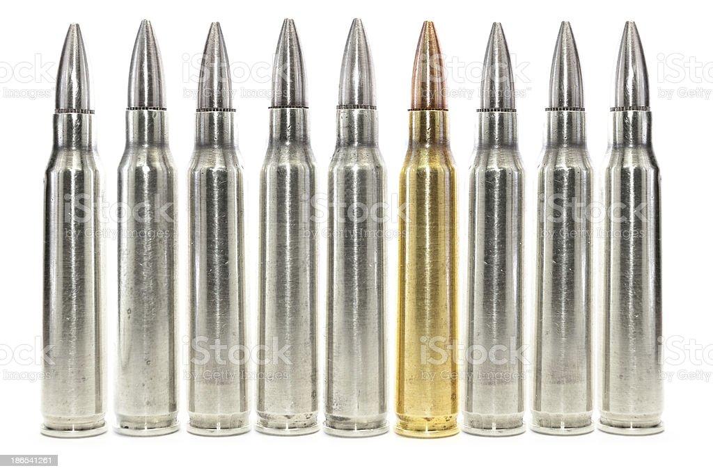 The Unique Bullet stock photo