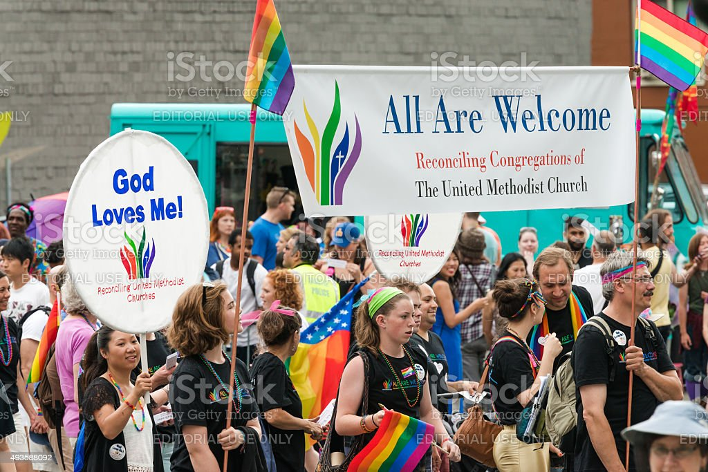 The United Methodist Church stock photo