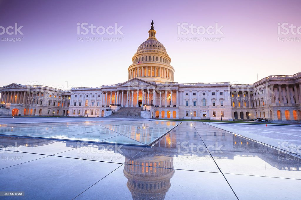 The United States Capitol building stock photo