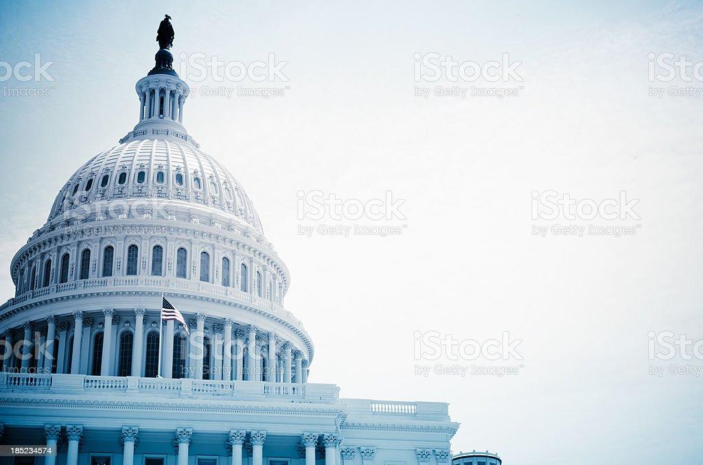 The United States Capitol building - Washington DC stock photo