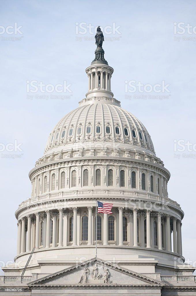 The United States Capitol in Washington DC stock photo