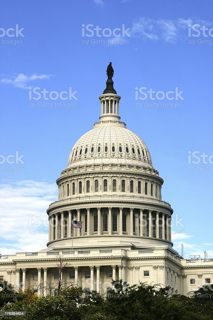 The United States Capitol stock photo