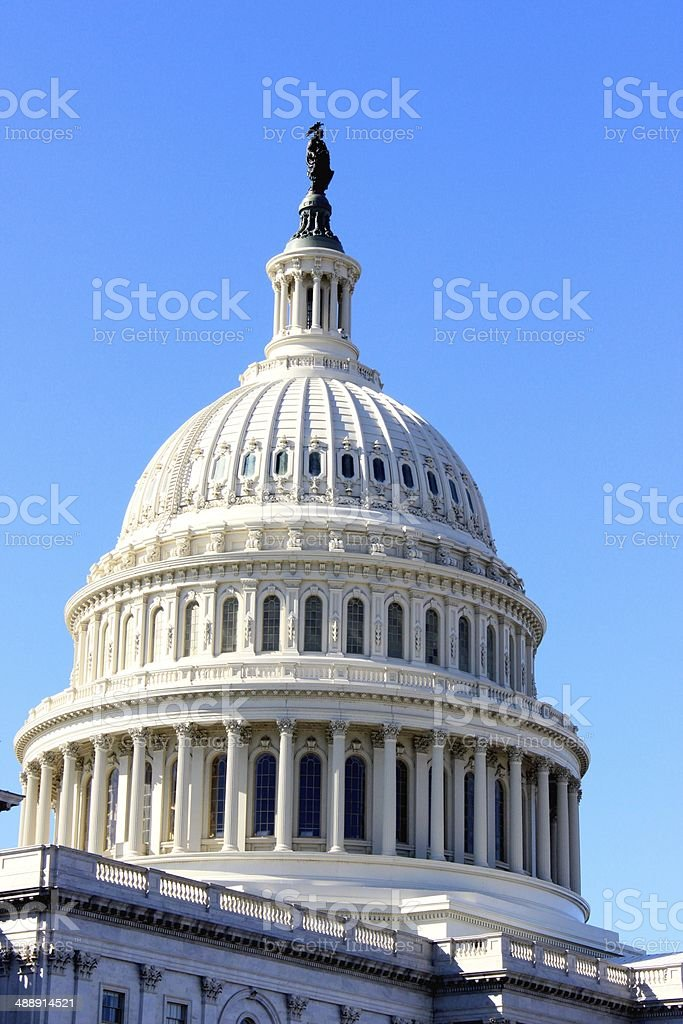 The United States Capitol royalty-free stock photo
