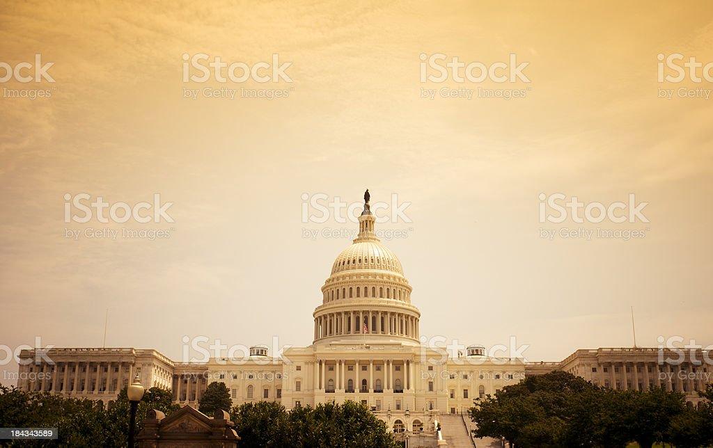The United States Capitol  - Washington DC royalty-free stock photo