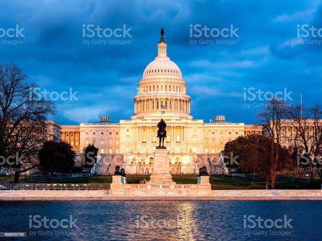 The United States Capitol,Washington, D.C. stock photo