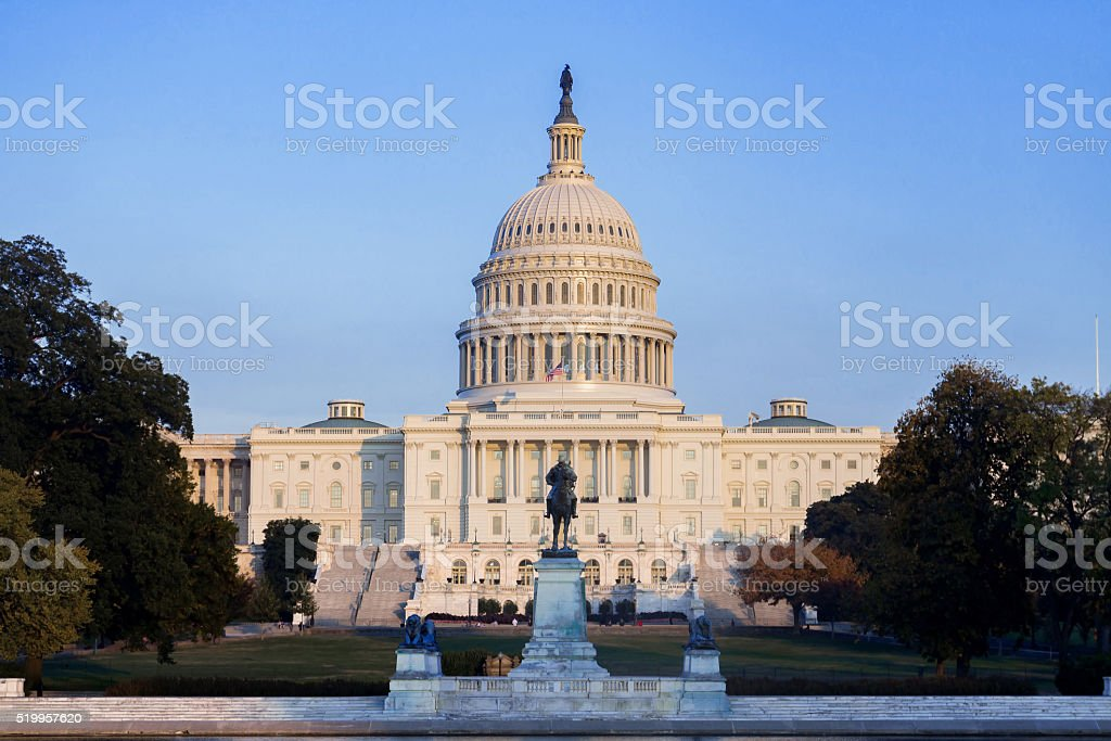 The United Statues Capitol Building. stock photo