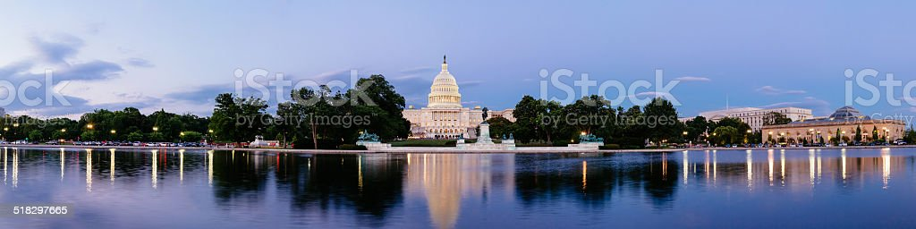 The United Statues Capitol stock photo