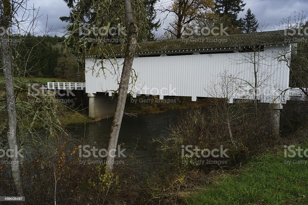 The Unity Bridge In Oregon stock photo
