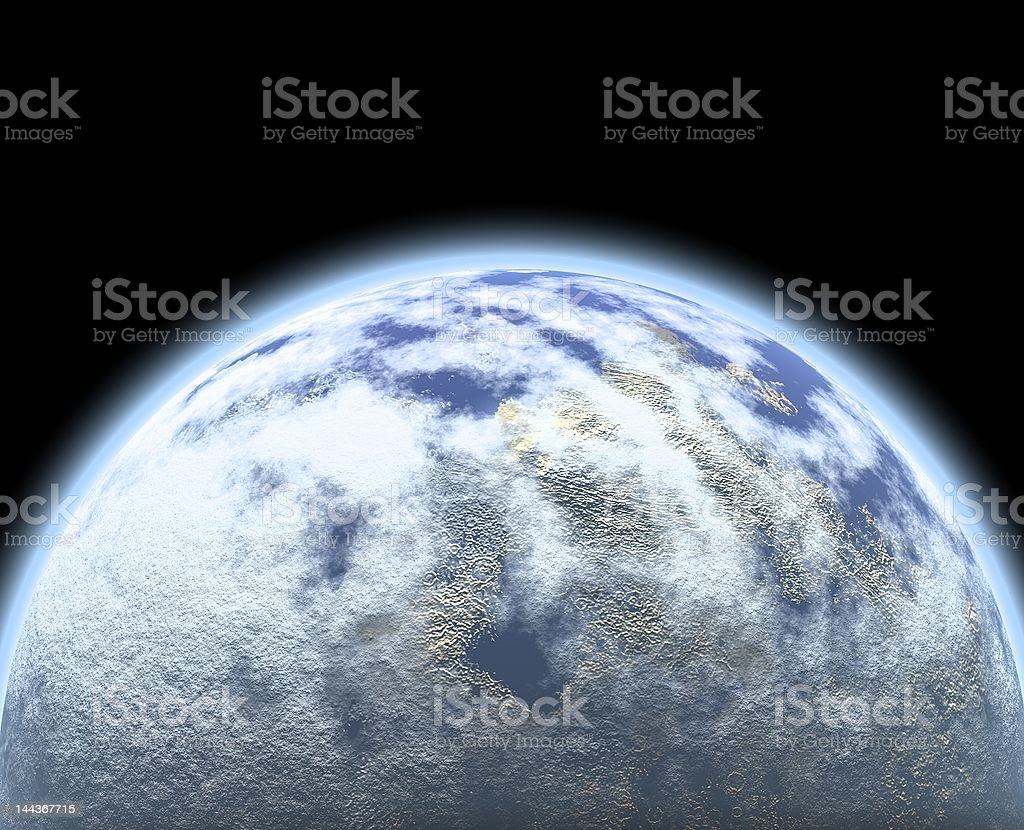 The universe royalty-free stock photo