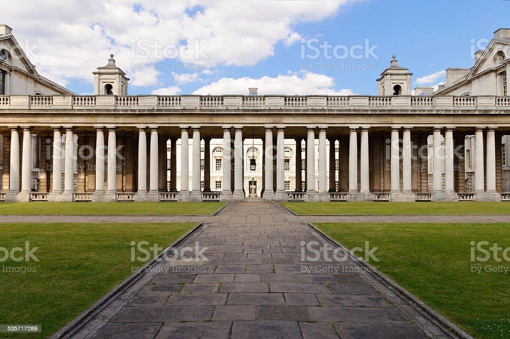 The University of Greenwich, London, England stock photo