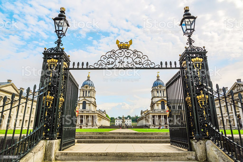 The University of Greenwich stock photo