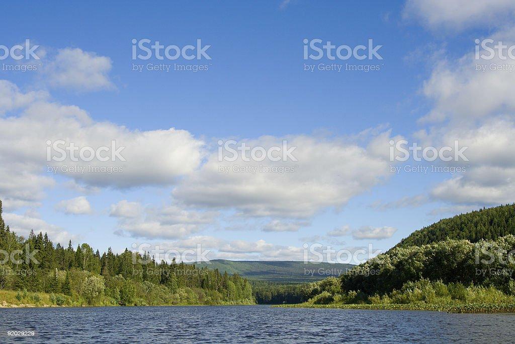 the Ural mountains royalty-free stock photo