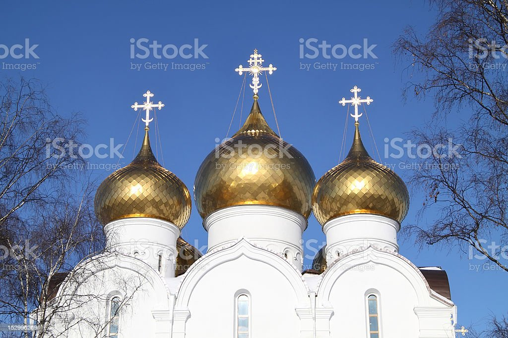 The Uspensky Cathedral royalty-free stock photo