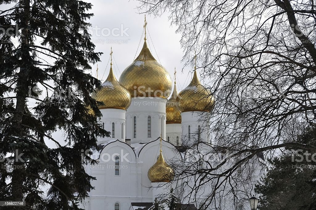 The Uspensky Cathedral stock photo
