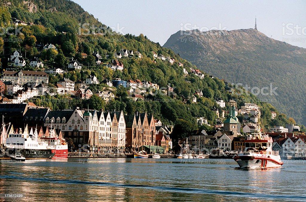 The Vaagen - Bergen stock photo