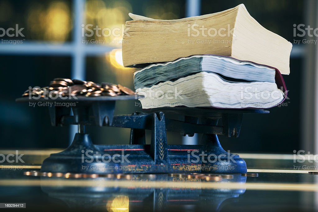 the value of knowledge royalty-free stock photo