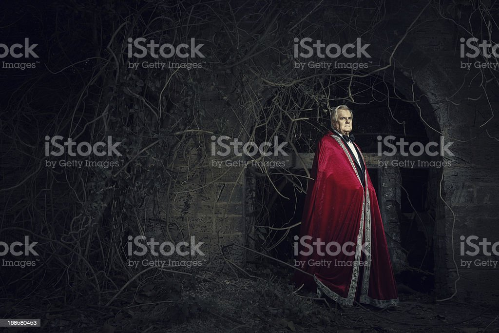 the vampire stock photo