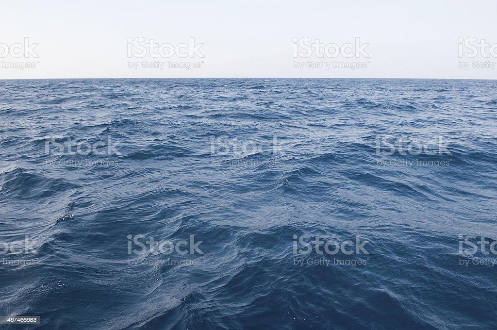 The vast sea stock photo