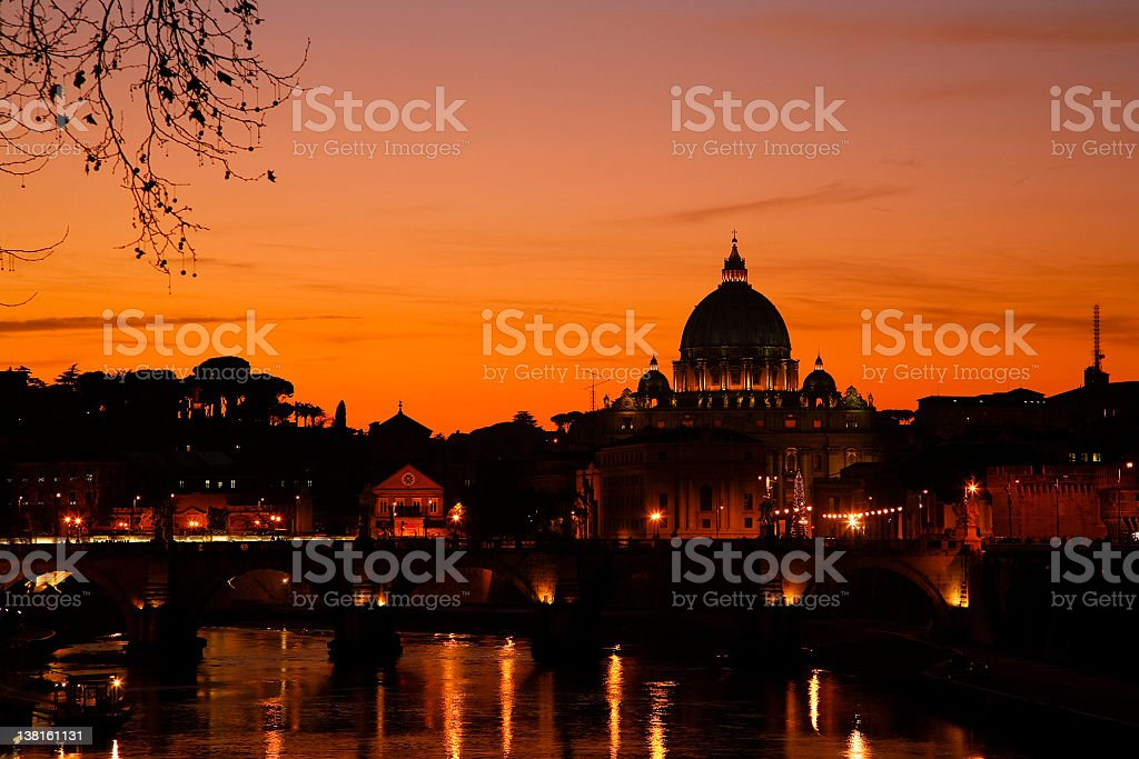 The Vatican royalty-free stock photo