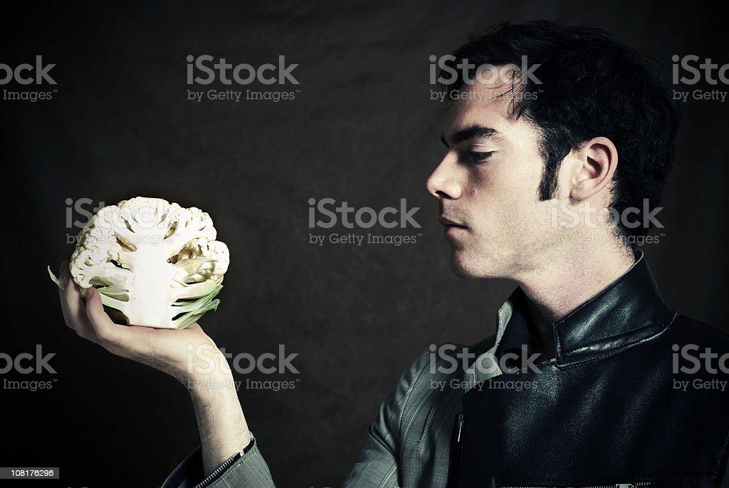 The Vegetarian stock photo
