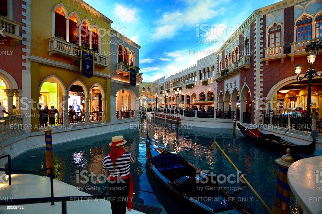 The Venetian Hotel Las vegas stock photo