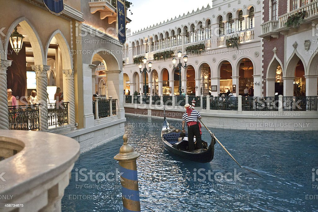 The Venetian Resort Hotel Casino in Las Vegas royalty-free stock photo
