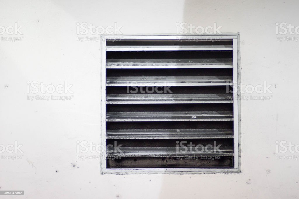 The Vent stock photo