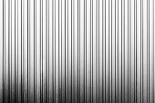 The vertical line texture of metal sheet wall