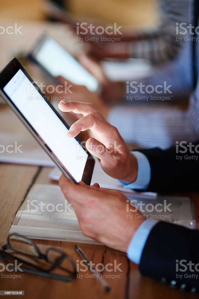 The very meaning of byod! stock photo