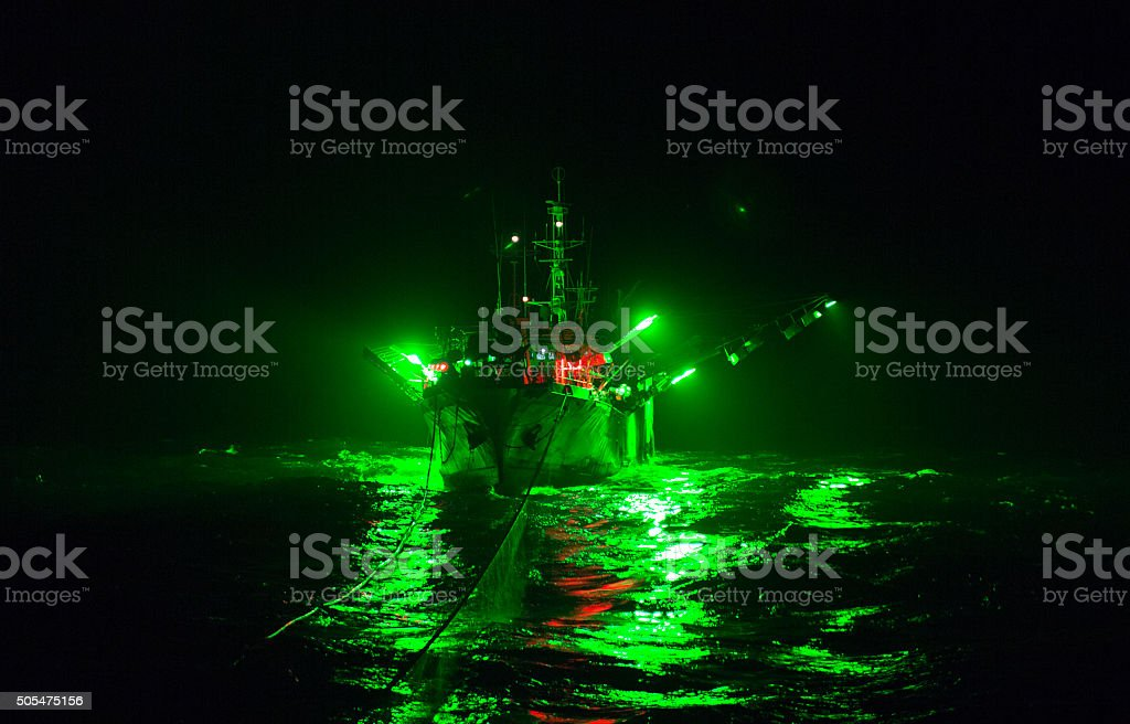 The vessel on a guess-warp stock photo