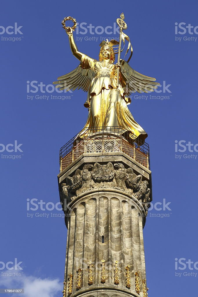 The Victory Column royalty-free stock photo