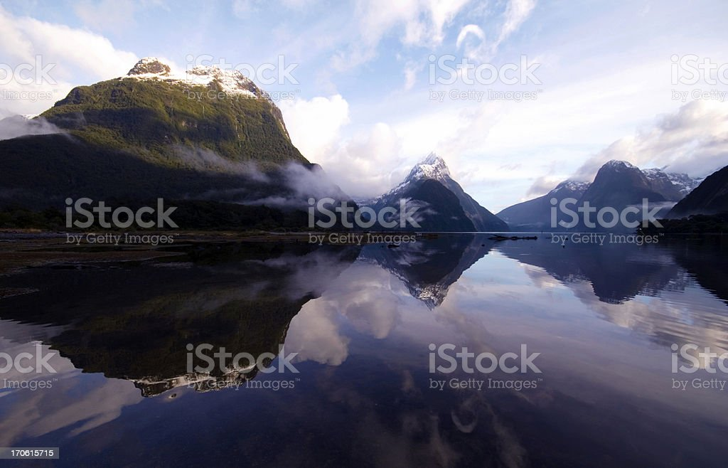 The view after the storm is beautiful royalty-free stock photo