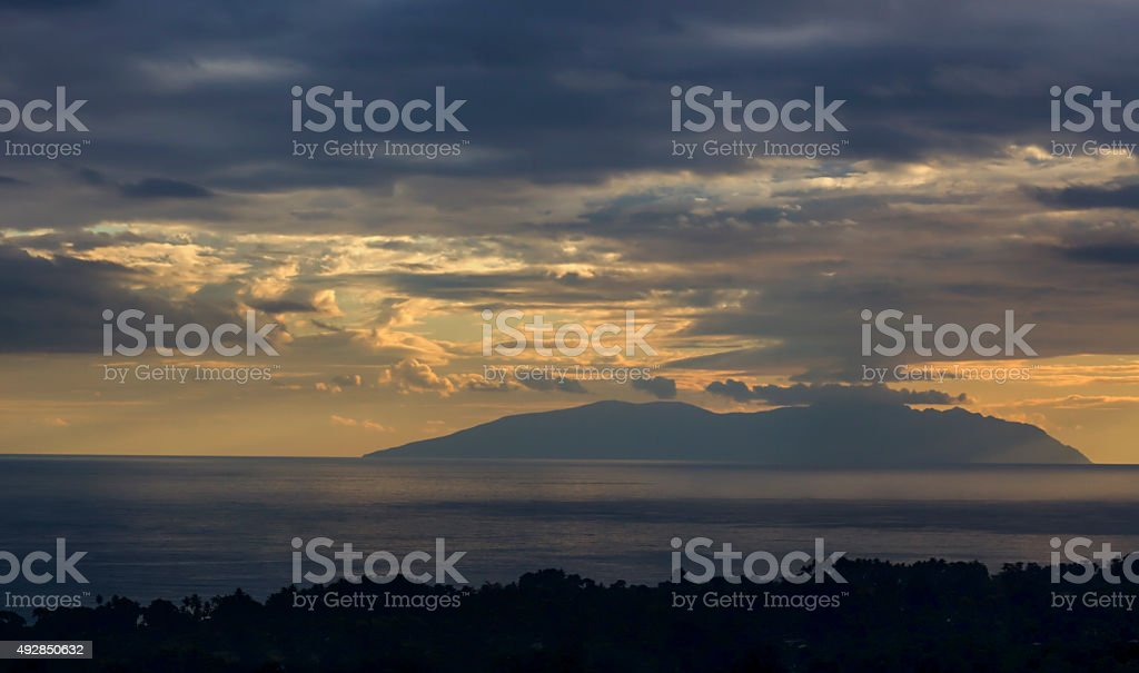 The view from Dili stock photo