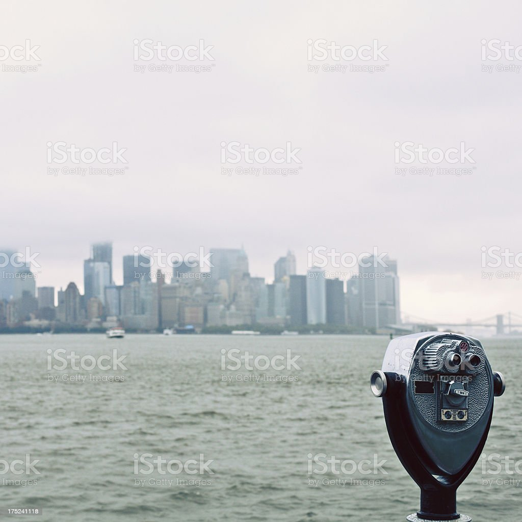 The view of New York City stock photo