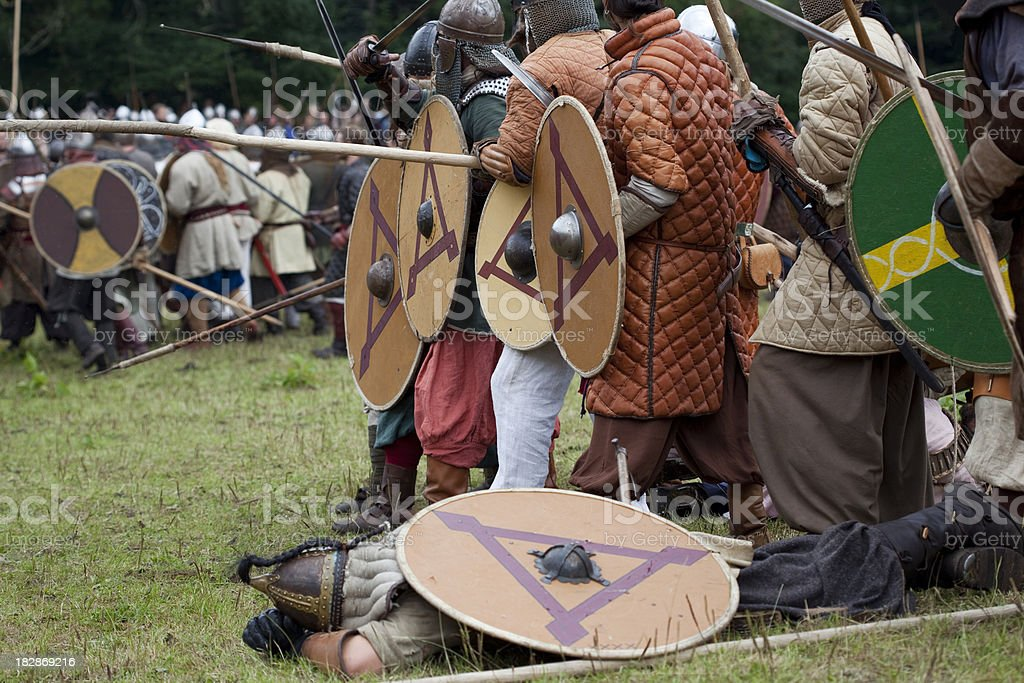 The Viking Moot at Moesgård - Denmark royalty-free stock photo