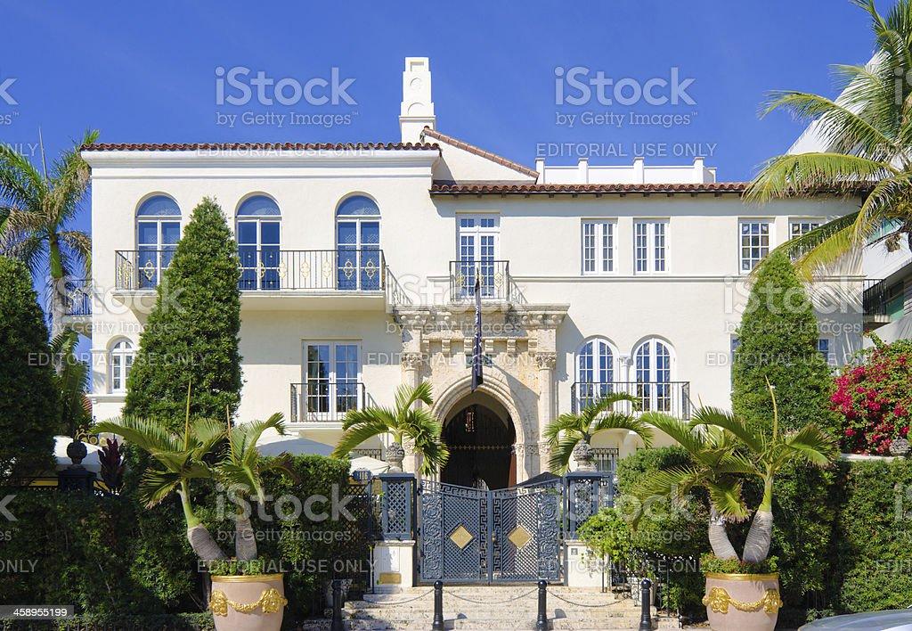 'The Villa by Barton G in Miami Beach, FL' stock photo