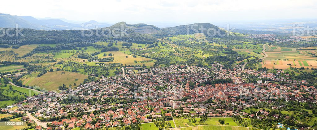 The Village stock photo
