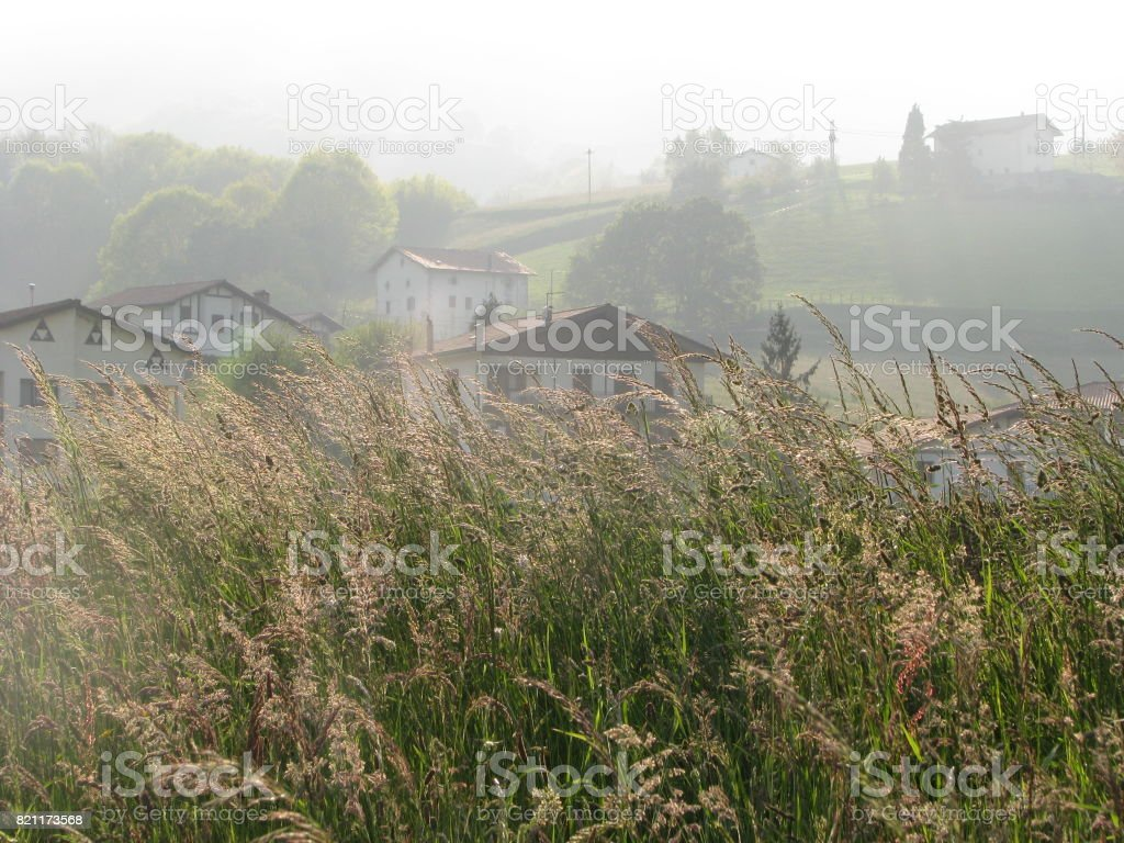 The village within stock photo