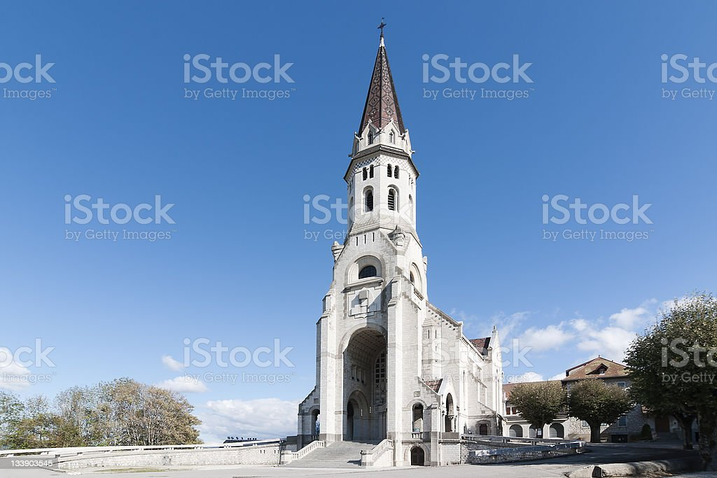 la visitation, annecy stock photo