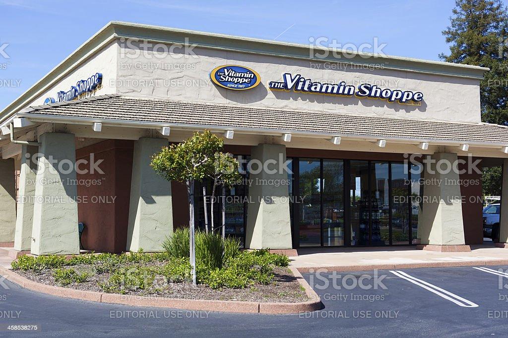 The Vitamin Shoppe Store stock photo