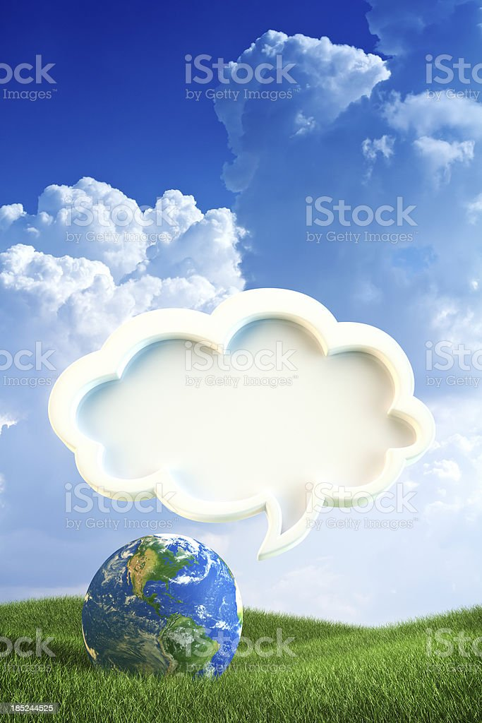 The voice of earth royalty-free stock photo