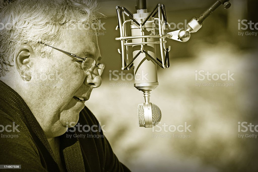 The Voice stock photo