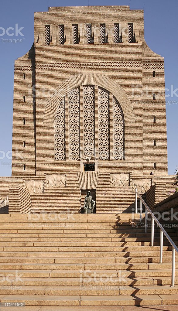 The Voortrekker Monument stock photo