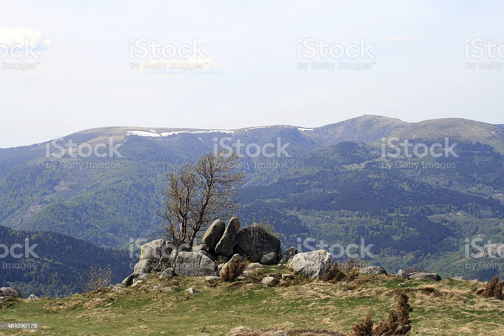 The Vosges, France stock photo