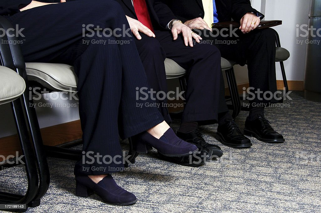 The Wait royalty-free stock photo