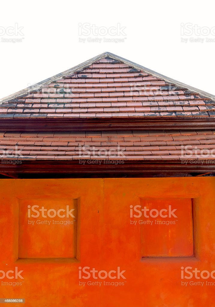 The wall design royalty-free stock photo