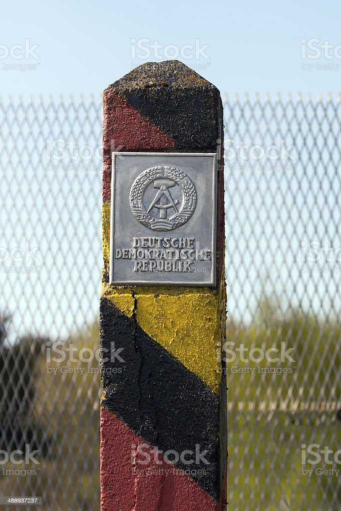 The Wall - East Germany stock photo